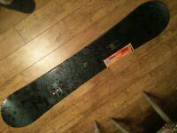 mens snowboard. Ride Bezerker 2014 Dh signature series 158 cm. All mountain. New