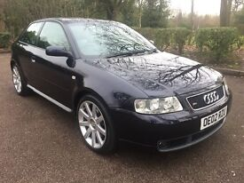 AUDI A3 S3 QUATTRO - FULL SERVICE HISTORY, REMAP, BEST COLOUR COMBO