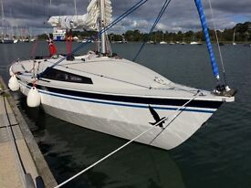 Hawk 20 Cabin sailing boat, excellent condition, offers considered on asking price.