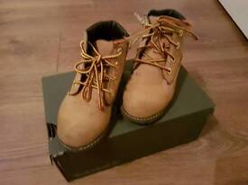 Boys TIMBERLAND shoes.