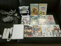 Nintendo Wii with accessories