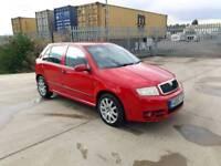 2006 Skoda Fabia VRS 1.9 PD TDI Diesel 130 BHP,