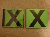 Ed Sheeran X (Multiply) Deluxe Edition CD.