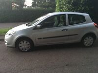 Low Mileage silver renault clio for sale