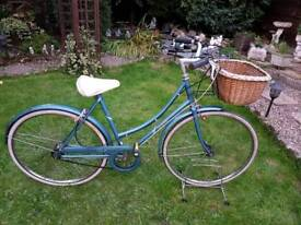 Retro Raleigh dutch loop style bicycle