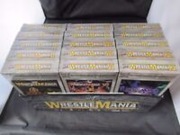 WWF Wrestlemania The Legacy 1-15 Boxset I XV WWE