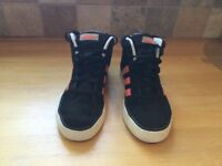 Girls Adidas High Top trainers size 3