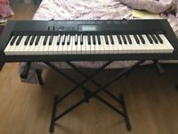 CASIO CTK-1150 Keyboard - Great Condition, hardly used! With stand and book
