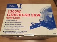 Wickes 1300W Circular Saw
