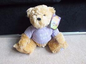 Chubba Chubba Limited Soft Teddy Bear Cuddly Toy