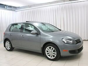 2011 Volkswagen Golf HATCH w/ SUNROOF, HEATED SEATS AND HEATED M