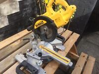 DeWalt 110v cross cutting mitre sawDWS774-LX