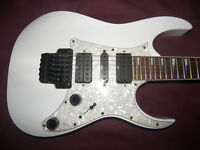Ibanez RG-350DX / RG350DX-WH (White) Electric Guitar + Gig Bag.