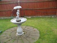 garden water fourtain