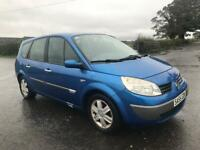 Renault grand scenic 1.6 petrol 7 seater (2005) plate