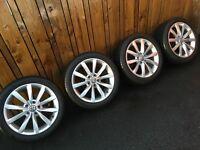 Volkswagen VW Golf Wheels Goodyear Eagle F1 Tyres 225/45/17 May fit Caddy Jetta Passat Bora Tdi