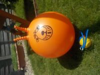 Large Inflatable Space Hopper with Pump - for older Children - Collect PE27