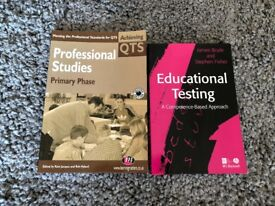 Trainee teacher text books