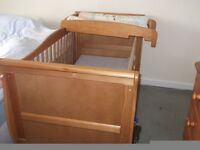 Mamas and Papas cot top changer