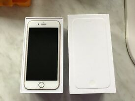 iPhone 6, 64gb, Gold, Unlocked To Any Network, Very Good Condition