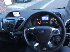 High spec Black 2013 Ford Transit custom van