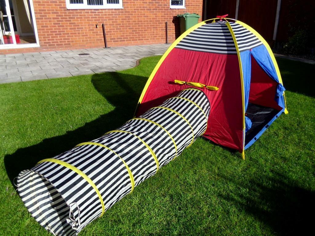 IKEA CHILDRENS OUTDOOR / INDOOR LARGE PLAY TENT AND TUNNEL ...