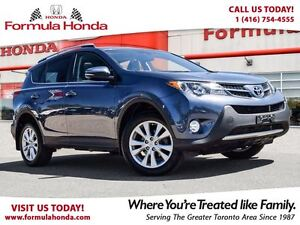 2014 Toyota RAV4 LIMITED | ONE OWNER | ACCIDENT FREE | AWD | LOW