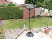 2kw outdoor patio heater used for garden party but no longer used in very good condition