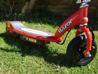 Razor E100 Scooter In Red with charger