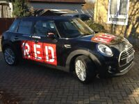 Driving Lessons with RED Driving School Instructor, Manual, BMW Mini, 2 hr lessons, SM/KT/CR/SW