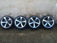 "19"" CONCAVED TTRS WHEELS AND TYRES(A4,A5,A6,A3,S LINE,PASSAT,JETTA,LEON,GOLF,QUATTRO,TOURAN,TIGUAN)"