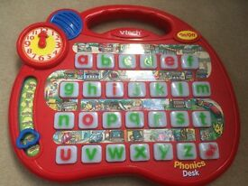 Vtech baby toys phonics play set with lights and sounds