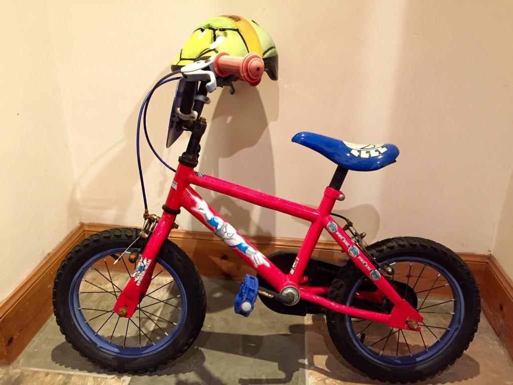 Kids Spider Man Bike & Helmet able to deliver