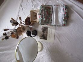 Assortment of household goods for sale due to house clearance comprising 7 items £25 for quick sale