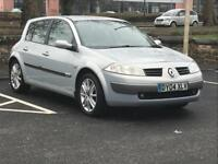 2004 RENAULT MEGANE 1.9 DIESEL *LOW MILES* *LONG MOT* *S HISTORY* P/X * DELIVERY