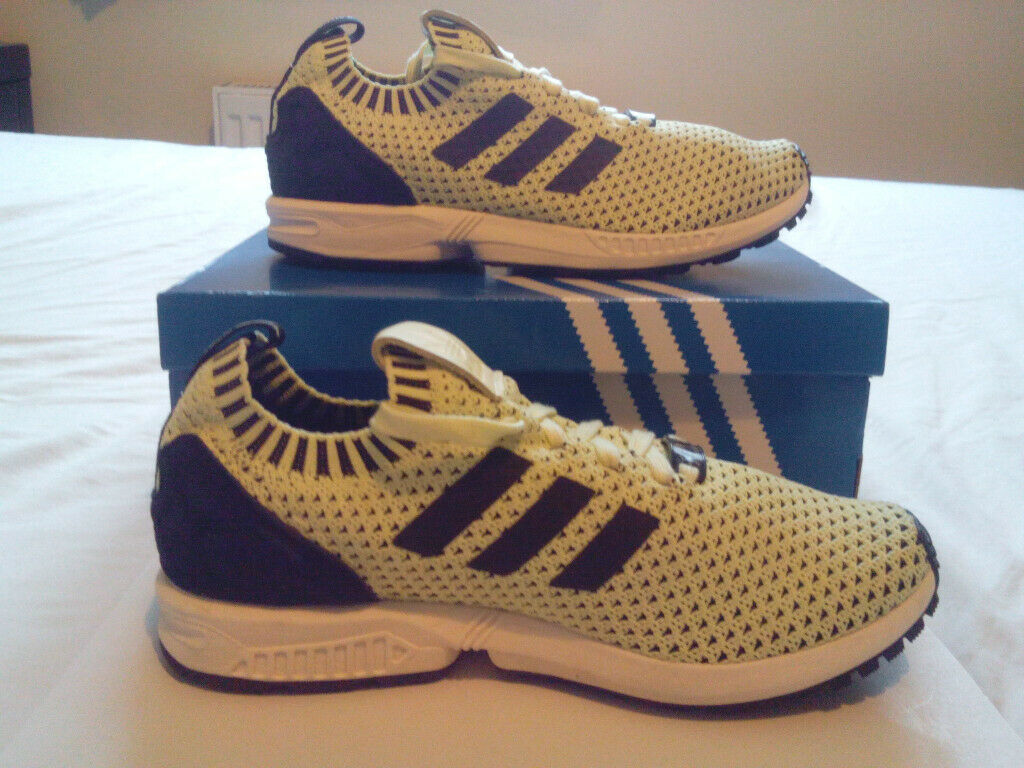 sports shoes 0b251 a428e Adidas ZX Flux Primeknit Trainers UK 6 (RARE)