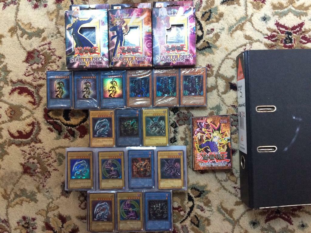 yugioh incredible collection including starter structure decks