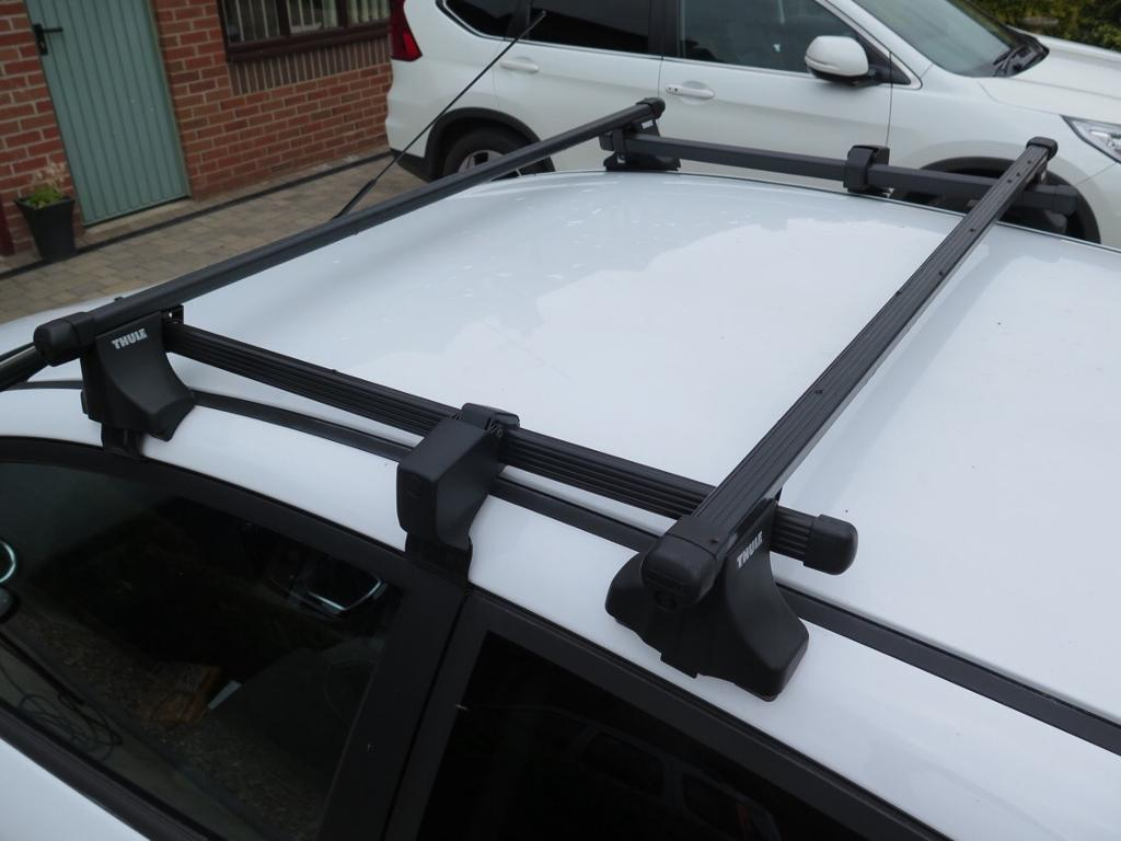 Thule Ford Fiesta 2015 Onwards Roof Bars And Short Roof