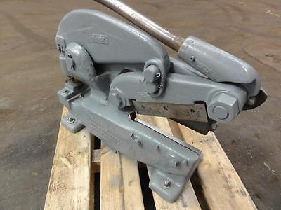 Rare Niagara 3 Manual Metal Punch Shear. 11ga Cap 9 Shear Blacksmith Pexto