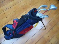 Junior Dunlop Bag and Young Gun Clubs - For approx 9-11 year olds