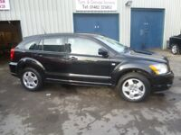 Dodge CALIBER SXT D,5 dr hatchback,FSH,full MOT,1 owner from new,heated leather interior,only 58,000