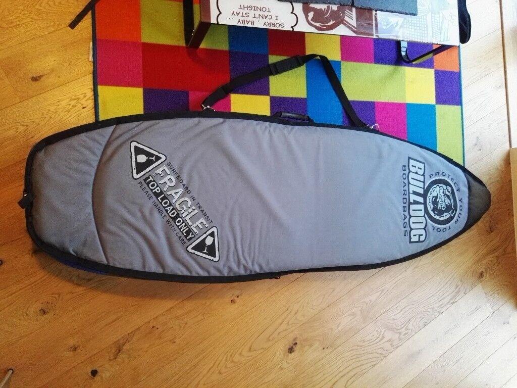 600de37b45ff Bulldog Surf Board Surfboard Bag   in London   Gumtree