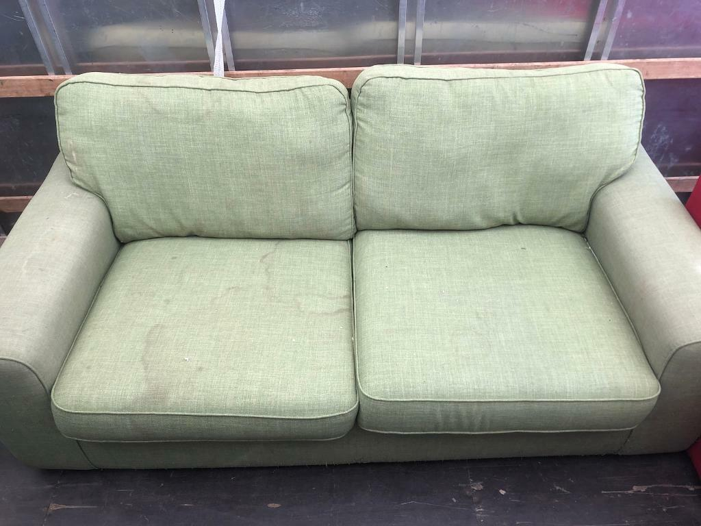 Large 2 Seater Sofa Vintage Look Good Condition I Can Deliver Cheap