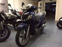 Honda SH 125cc Automatic Scooter, Blue, 2008 Model, Part Ex to Clear