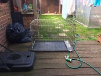 Medium size dog cage for sale