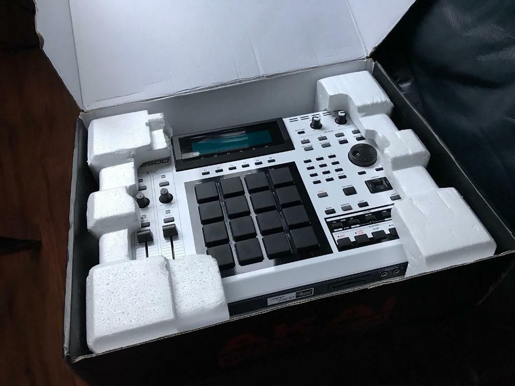 Akai MPC 2500 SE Limited Edition fully refurbed by Jazzcat Akai Service