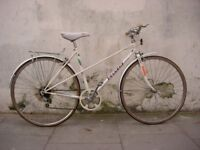 Ladies Mixte/ Commuter Bike by Peugeot, White, Great Condition!!! JUST SERVICED/CHEAP PRICE!