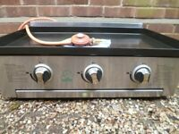 Gas Baking Plate Barbeque 3 Burners by Brixton (used)