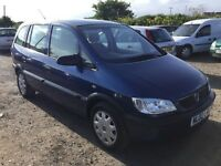 CAME IN PX 7 seater Vauxhall zafira 1600 cc family mov in nice condition good driver any trial welc