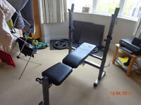 Bodymax CF342 foldable weight bench